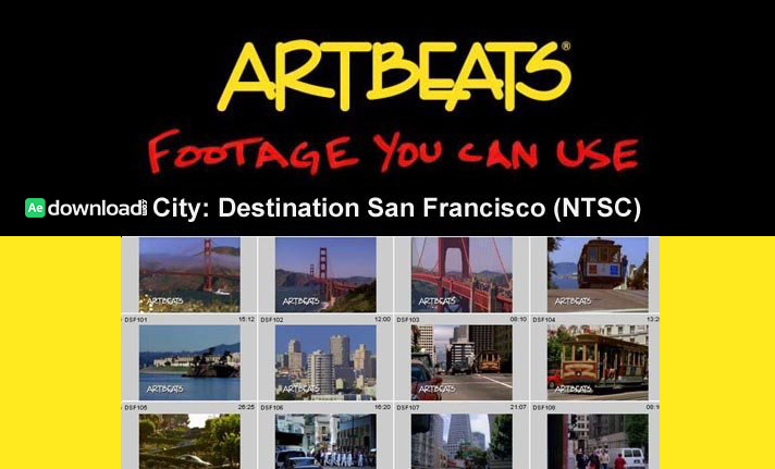 ARTBEATS - CITY DESTINATION SAN FRANCISCO (NTSC) 1