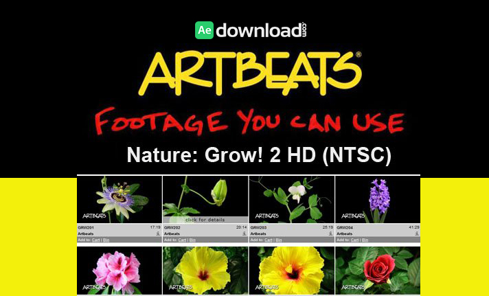 ARTBEATS - NATURE GROW! 2 HD (NTSC)1
