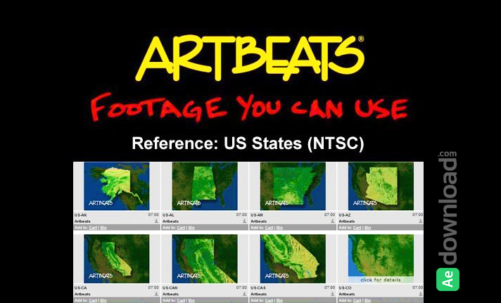 ARTBEATS - REFERENCE US STATES (NTSC)