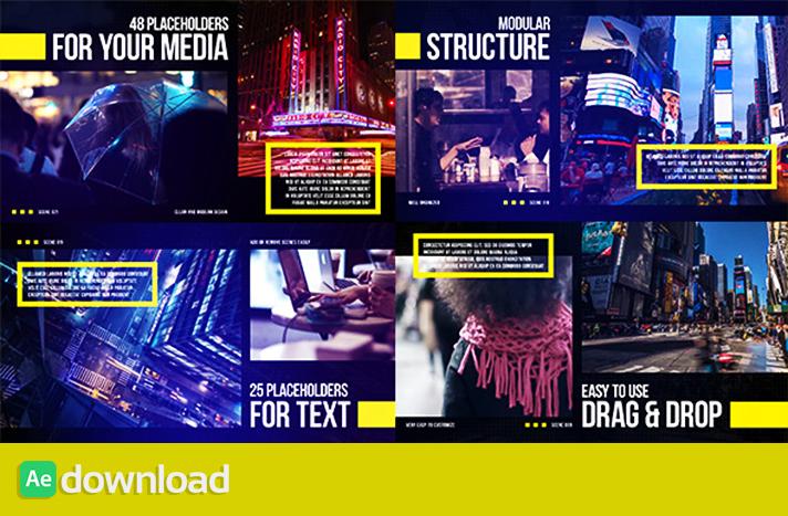 Big City Slides free download templates project videohive free download after effects free downloa templates