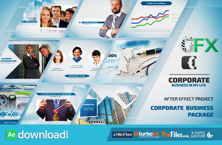 Corporate Business Package Free Download After Effects Templates