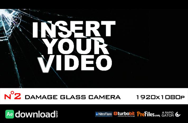 Damage Glass Camera - 2 elements