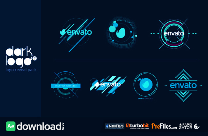 Dark Logo Pack Free Download After Effects Templates
