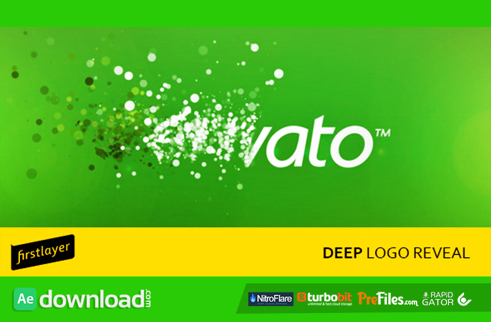 Deep Logo Reveal Free Download After Effects Templates