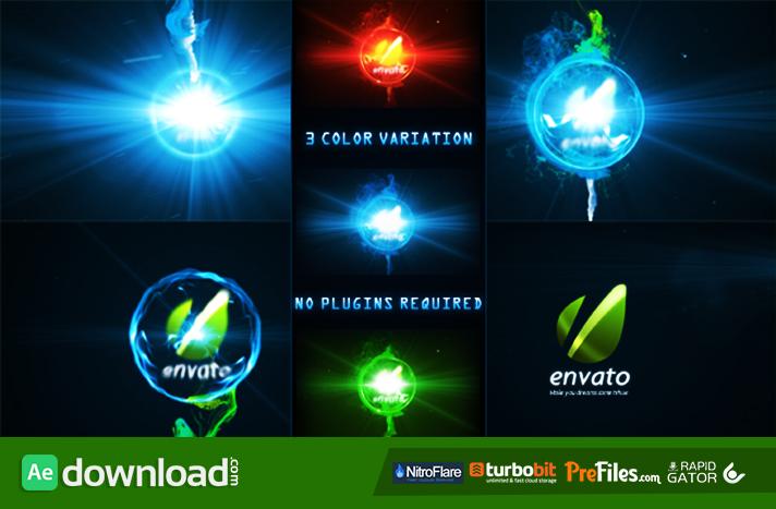 Energy Sphere Logo Reveal