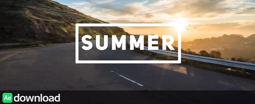 FAST SUMMER OPENER - AFTER EFFECTS TEMPLATES (MOTION ARRAY)