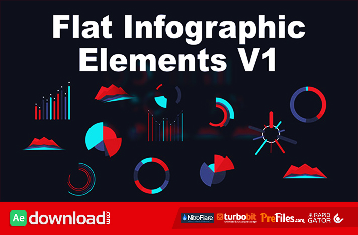 Flat Infographic Elements V1
