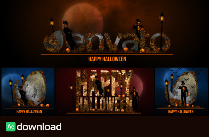Halloween Bumper videohive free download project template free download