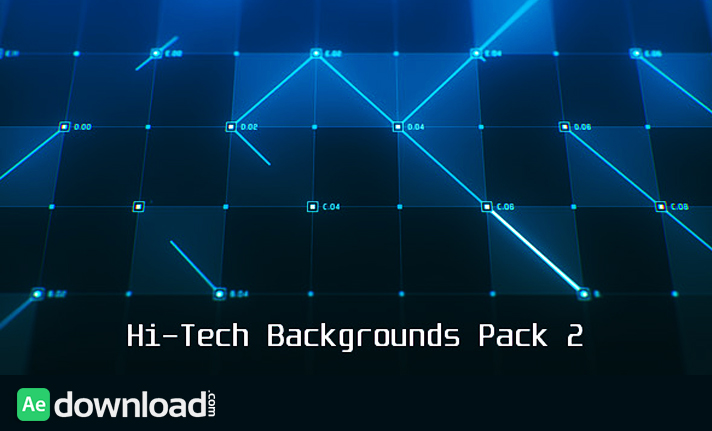 Hi-Tech Backgrounds Pack 2 free download