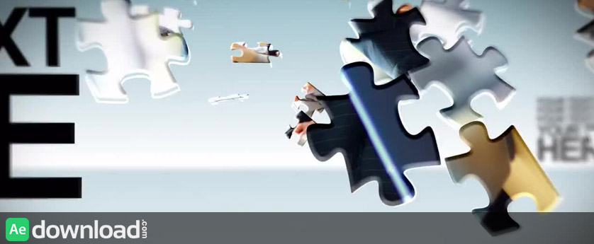 PUZZLE PIECES - AFTER EFFECTS TEMPLATES (MOTION ARRAY)