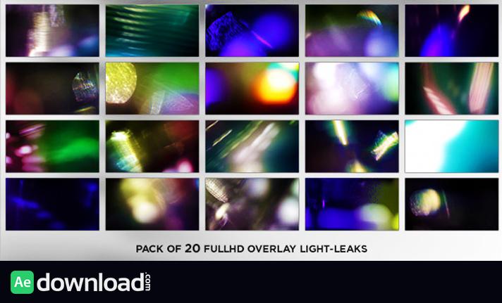 Real Elegance Light Leaks (20-Pack) free download