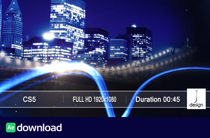 Sky Line project free download videohive template