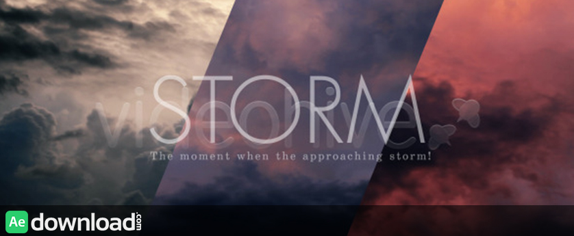 Storm Clouds Sky free download videohive templates