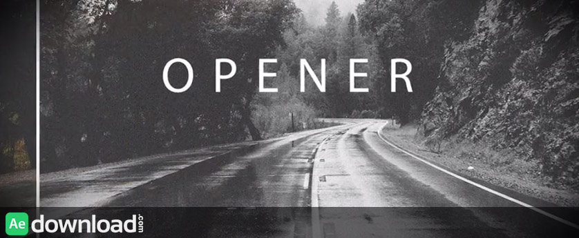 VIDEOHIVE SIMPLE CLEAN OPENER - AFTER EFFECTS TEMPLATES