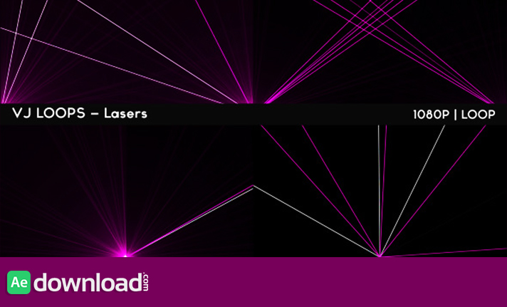 VJ Loops - Lasers free download