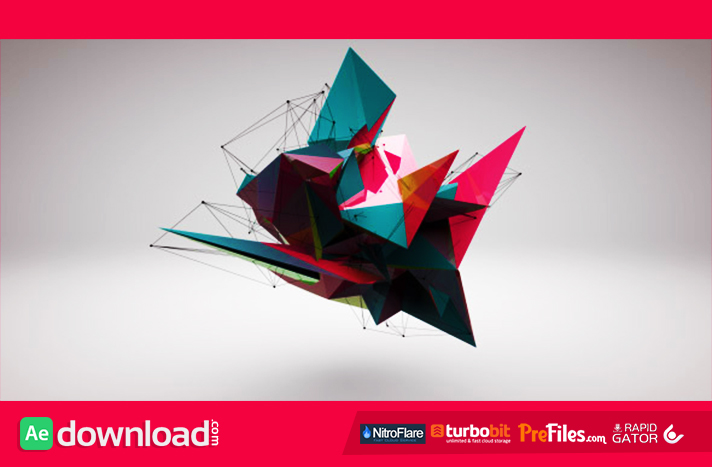 3D Abstract Logo Reveal Free Download After Effects Templates