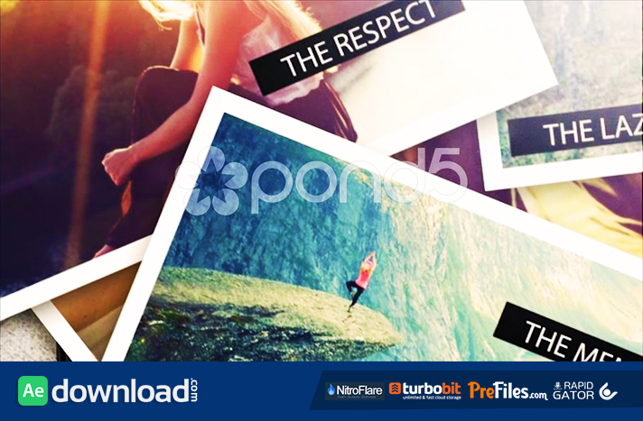 after effects template photo slideshow 3d ii free download