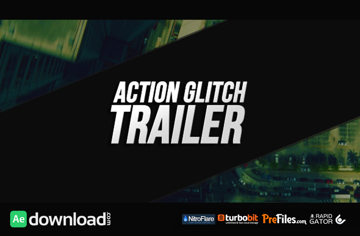 Action Glitch Trailer Free Download After Effects Templates