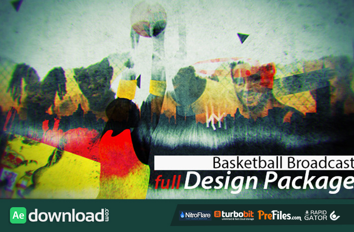 Basketball Broadcast Design Free Download After Effects Templates