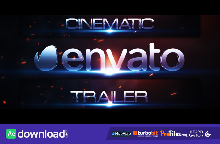 Cinematic Trailer Titles Free Download After Effects Templates