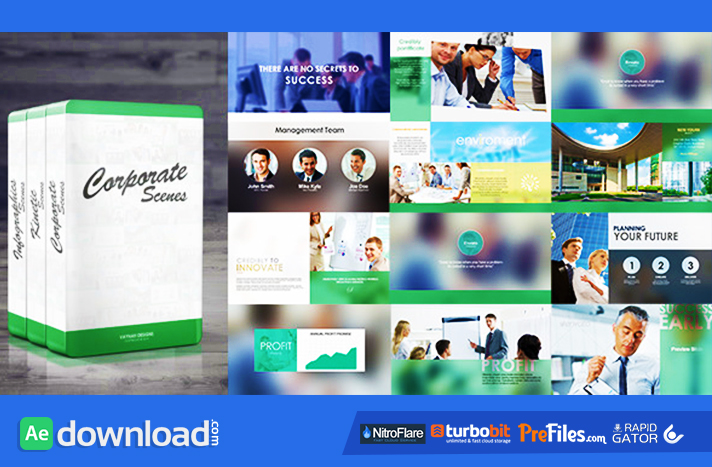 Corporate Package 3 in 1Free Download After Effects Templates