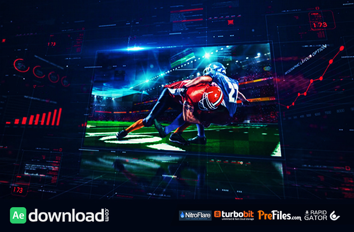 Digital Holographic Promo Free Download After Effects Templates