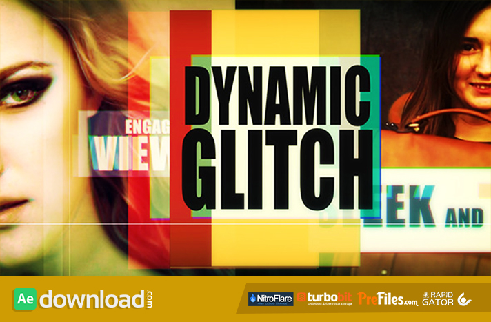 Dynamic Glitch Free Download After Effects Templates