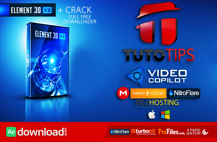 ELEMENT 3D Free Download After Effects Templates