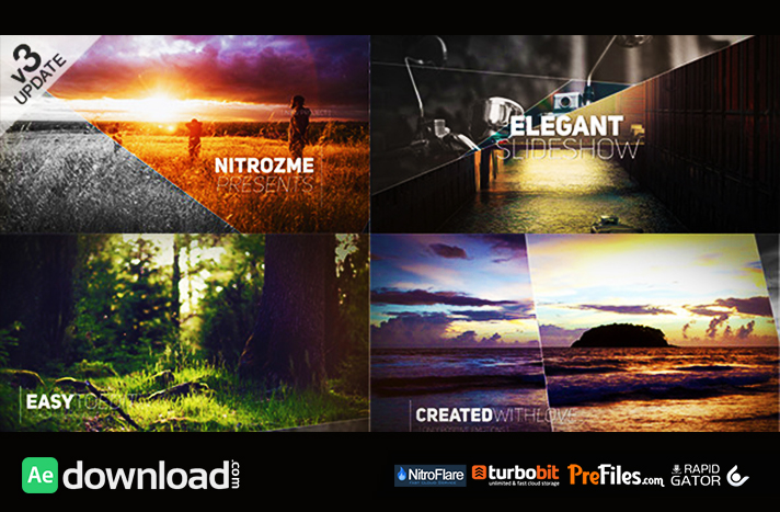 free download after effects cc album template