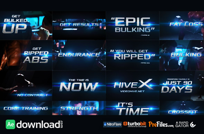 Epic Promo Free Download After Effects Templates