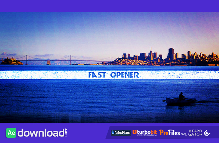 Fast Opener Free Download After Effects Templates
