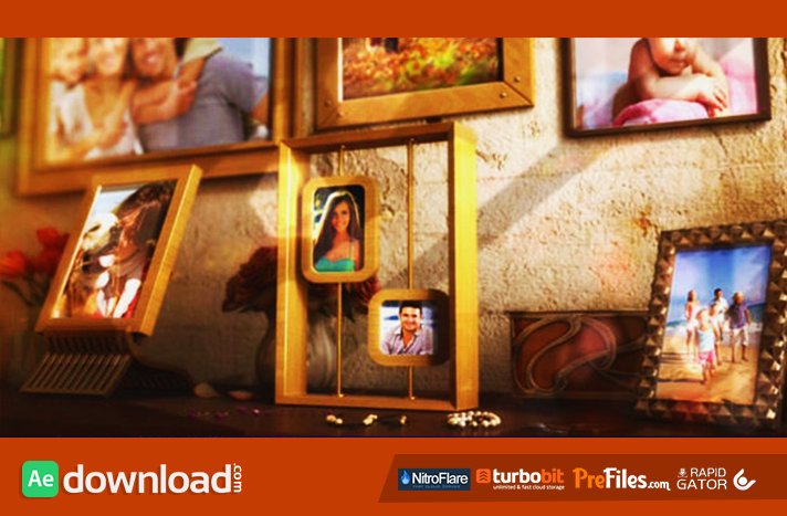 Happy Family Photo Album Free Download After Effects Templates