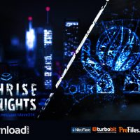 HIGHRISE CITY LIGHTS – LOGO INTRO (VIDEOHIVE PROJECT) – FREE DOWNLOAD