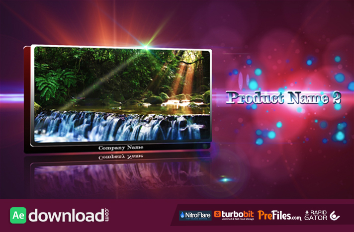 Inspirating Displays Free Download After Effects Templates