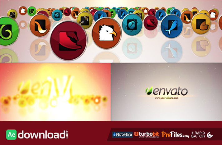 Media Icons Logo Free Download After Effects Templates
