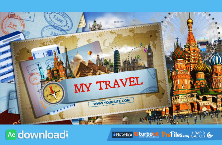 My Travel 2 - Tv Pack Free Download After Effects Templates