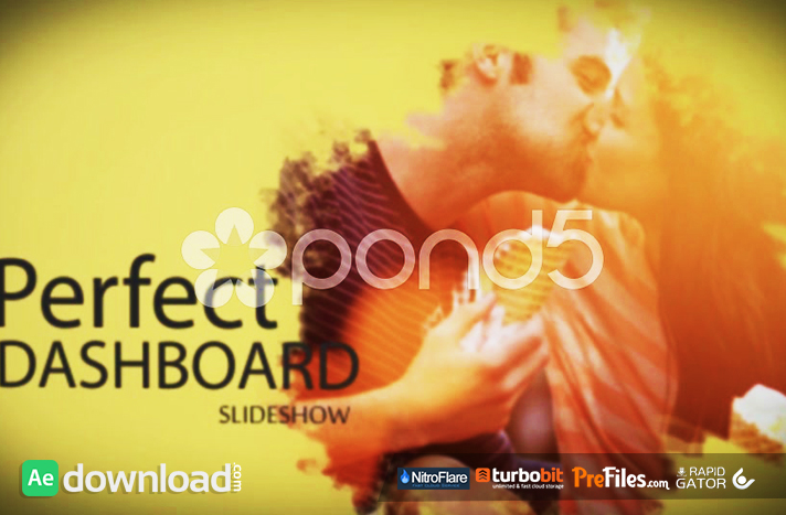 PERFECT DASHBOARD SLIDESHOW (POND5 Free Download After Effects Templates