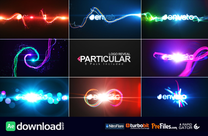 Particular Logo Reveal Pack Free Download After Effects Templates