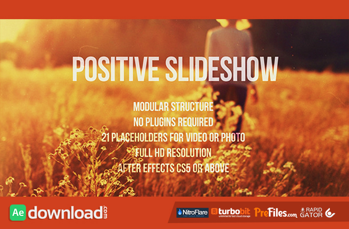 Positive Slideshow Free Download After Effects Templates
