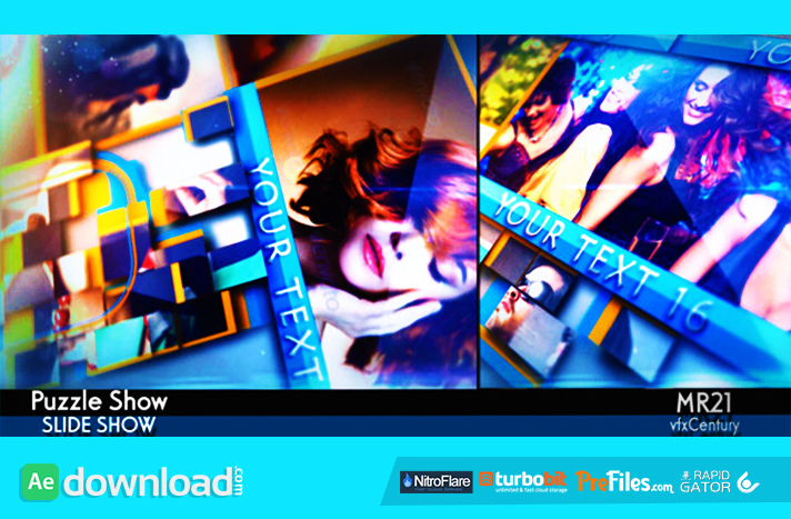 Puzzle Show Free Download After Effects Templates