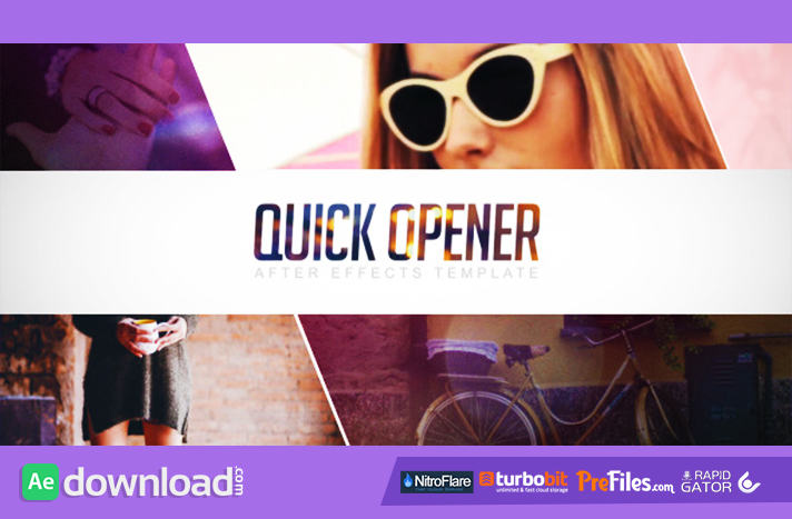 Quick Opener Free Download After Effects Templates