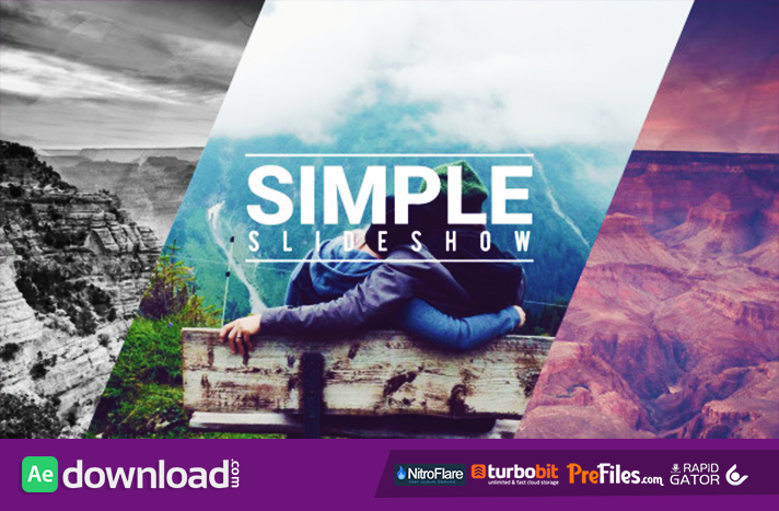 Simple Fast Slideshow Free Download After Effects Templates
