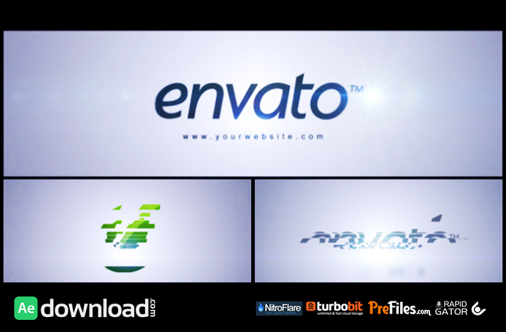 Simple Logo Reveal Free Download After Effects Templates