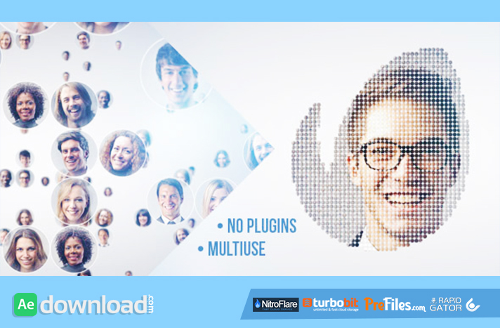 Simple Mosaic Free Download After Effects Templates