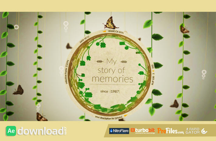 Story of Memories Free Download After Effects Templates
