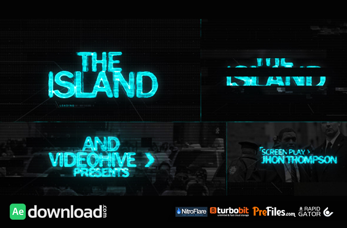 The ISLAND (Sci Fi) Cinematic Title Sequence Free Download After Effects Templates