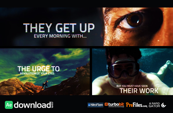The Videohivers Free Download After Effects Templates