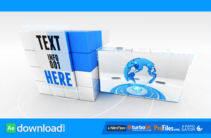 Transforming Cube Free Download After Effects Templates