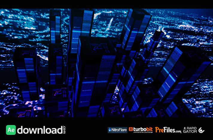 terminal city (matrix) Free Download After Effects Templates