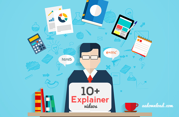 10+ Best Free Explainer Video After Effects Templates